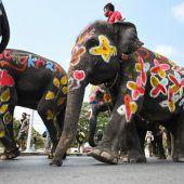 Neujahrsfest in Thailand