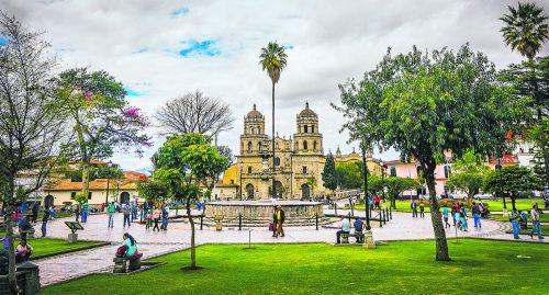 Cajamarca gilt als eine der schönstenKolonialstädte Perus.