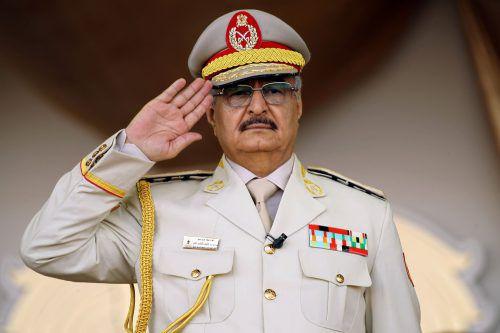 Chalifa Haftar will Tripolis erobern. AFP