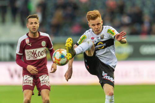 Christian Gebauer kehrt nach seiner Rückenverletzung wieder in den Kader des SCR Altach zurück.gepa
