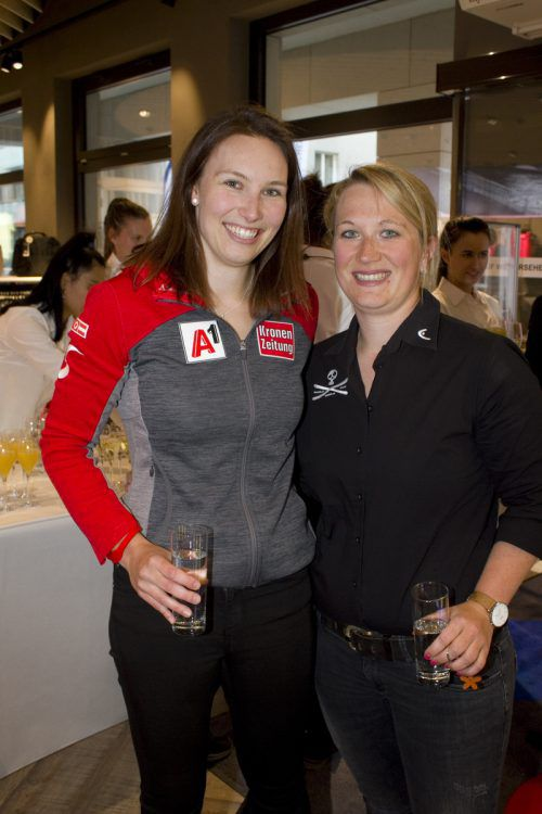 Christine Scheyer und Verena Fink (Head).
