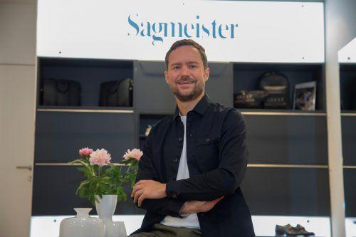 Clemens Sagmeister führt das Familienunternehmen in sechster Generation und führt das angesehene Modehaus mit stationär und digital in die Zukunft. VN/Paulitsch