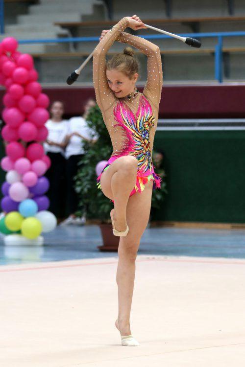 Constance Rabitsch holte drei ÖM-Bronzene in der Juniorinnen-2-Klasse. Verband