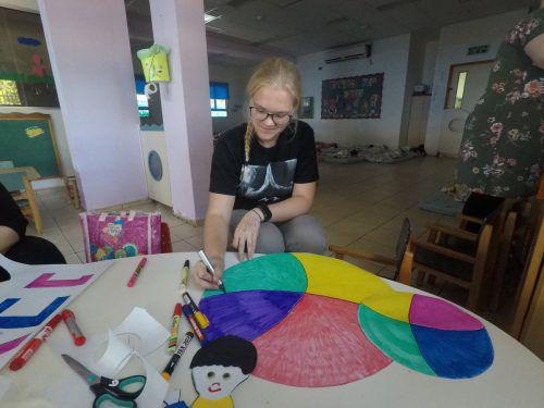 Daniela Reiter arbeitet in einer Kindertagesstätte in Kfar Saba. daniela reiter
