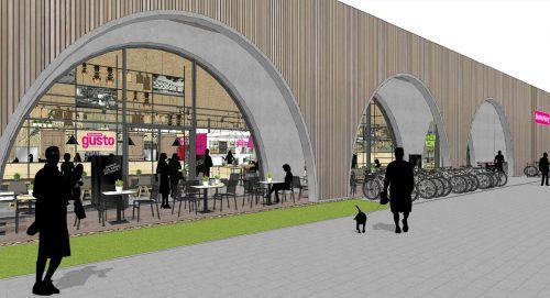 Das Architekturbüro Kauffmann zeichnet für die Gestaltung verantwortlich. Fa
