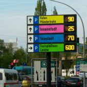 LED-Parkleitsystem wird erneuert
