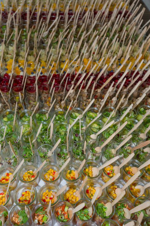 Das Catering-Unternehmen evenTZ sorgt im Bregenzer Festspielhaus und rund um die Bregenzer Festspiele für die Kulinarik.VN/Paulitsch