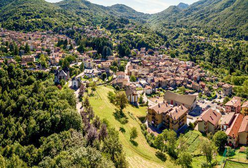 Das Dorf Esino Lario in der Lombardei hat knapp 750 Einwohner.