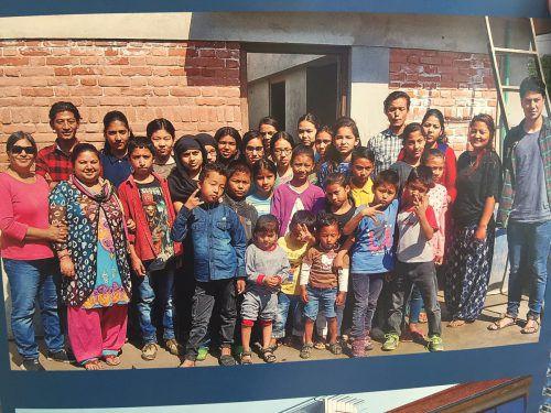Das Herz von Diether Fink hängt noch immer an Nepal und an Kindern dort, die Hilfe brauchen. fink, vn