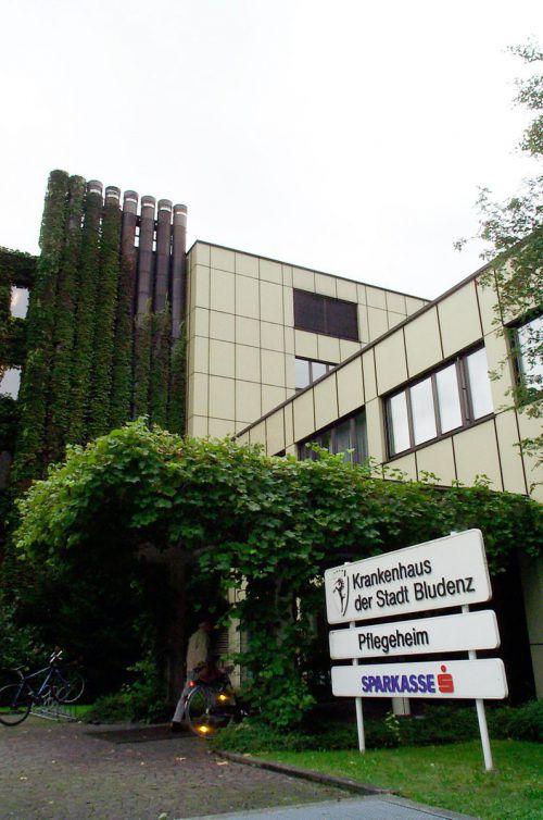 Das Krankenhaus Bludenz gehörte bis 2003 der Stadt, ehe es vom Land übernommen wurde.VN/jw