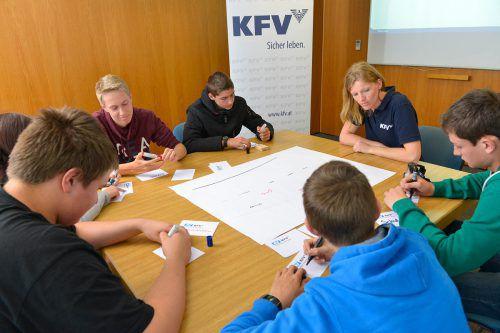 Das Kuratorium für Verkehrssicherheit bietet Vorarlberger Schulen heuer 20 Workshops zu Risiken im Straßenverkehr an.kfv