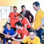 Volksschüler erkunden die digitale Welt
