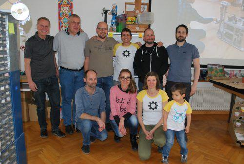 """Das Projekt """"Kids OpenLab"""" feierte jetzt seinen ersten Geburtstag in der Gelben Fabrik. erh"""