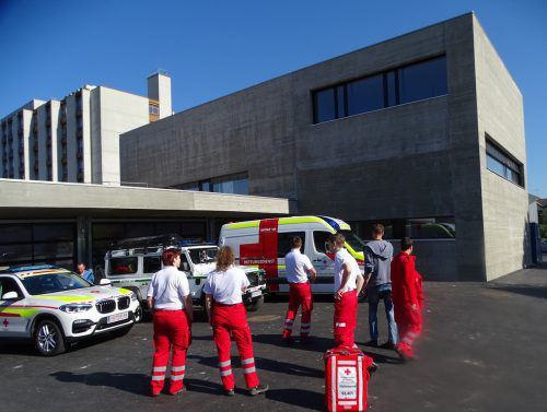 Das Rettungsgebäude in Hohenems ist endlich fertig. tf