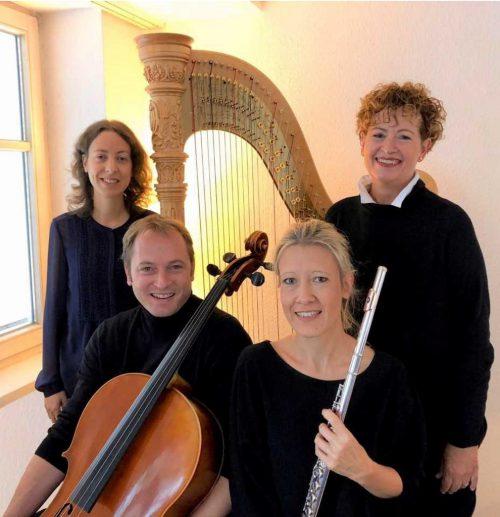 """Das """"Trio Concertante"""" spielt am Samstag, 20 Uhr, im Thalsaal. Bettina Barnay moderiert den Abend. THALSAALKULTuR"""