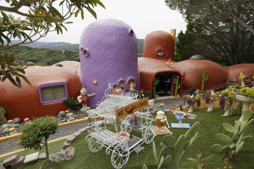 Das ungewöhnliche Haus wurde im Jahr 1976 entworfen und erbaut. AP