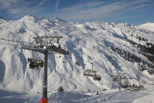 Das Wetter spielte fast immer mit: Die Vorarlberger Seilbahnen (Bild: Silvretta Montafon) konnten den Umsatz in dieser Saison um 4,5 Prozent steigern.VN/Paulitsch