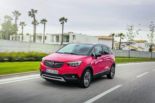 Dass der Opel Crossland X ein Bruder des Peugeot 2008 und des CitroënC3 Aircross ist, sieht man ihm weder am Ex- noch am Interieur an.
