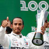 Hamilton-Sieg beim 1000er
