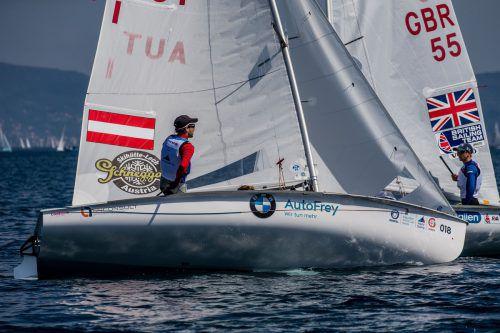 David Bargehr und Lukas Mähr sind weiterhin optimistisch. World Sailing