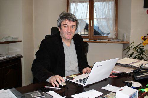 Der Bludescher Bürgermeister Michael Tinkhauser kehrt zur AK zurück. VN/JS