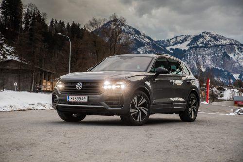 Der größte und teuerste VW: die dritte Generation des Touareg wird seiner Flaggschiff-Rolle gerecht.VN/Steurer