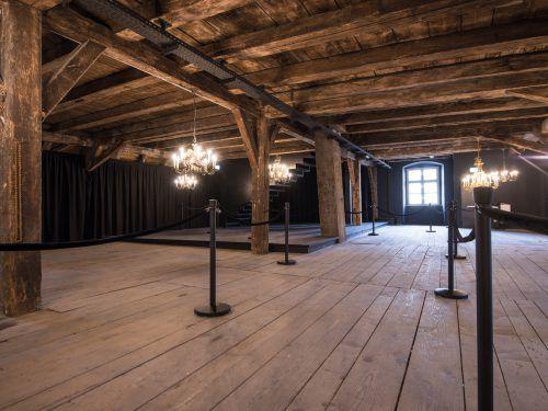 Der Holzbau ist mit Sanierungen Bild: Palais Liechtenstein) erfolgreich.Fa/Ess