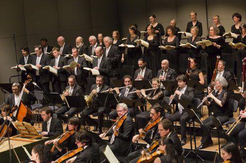 Der Kammerchor Feldkirch unter Benjamin Lack wird heuer gleich zwei Mal bei der Schubertiade auftreten. SOV/Mathis