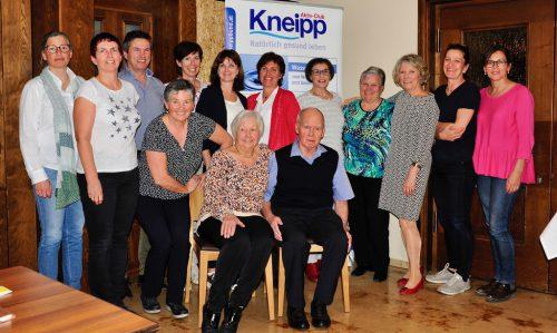 Der Kneipp Aktiv Club präsentiert sich mit neuem Vorstand.kneipp aktiv club