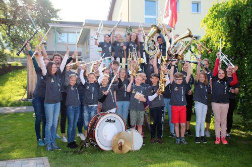 Der Musikverein Weiler ist auf der Suche nach Nachwuchsmusikern. Am 10. April besucht eine Abordnung daher die Volksschule der Gemeinde. JMWeiler/Summer