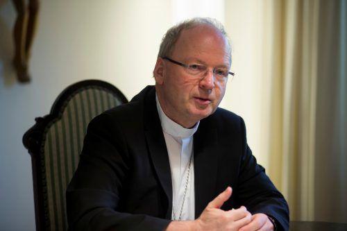 Bischof Benno Elbs wird über den Pfarrverband Vorderland informieren. VN/Paulitsch