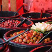Provence-Markt in der Schulgasse