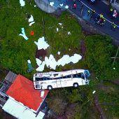 Staatstrauer nach Busunglück auf Madeira