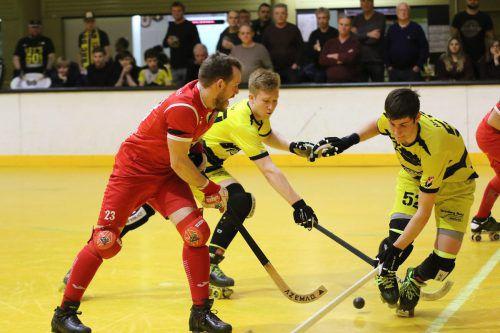 Der Rollhockeyclub lädt am kommenden Samstag zum Play-off-Heimspiel in die Stadthalle. RHC