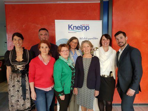 Der Vorstand des Kneipp-Landesverbandes Vorarlberg. kneipp-landesverband