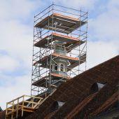 Auch Bezau hat nun einen schiefen Turm