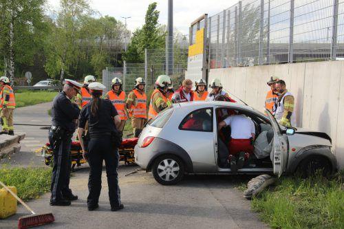 Die 89-Jährige verlor die Kontrolle über ihr Fahrzeug. Vlach