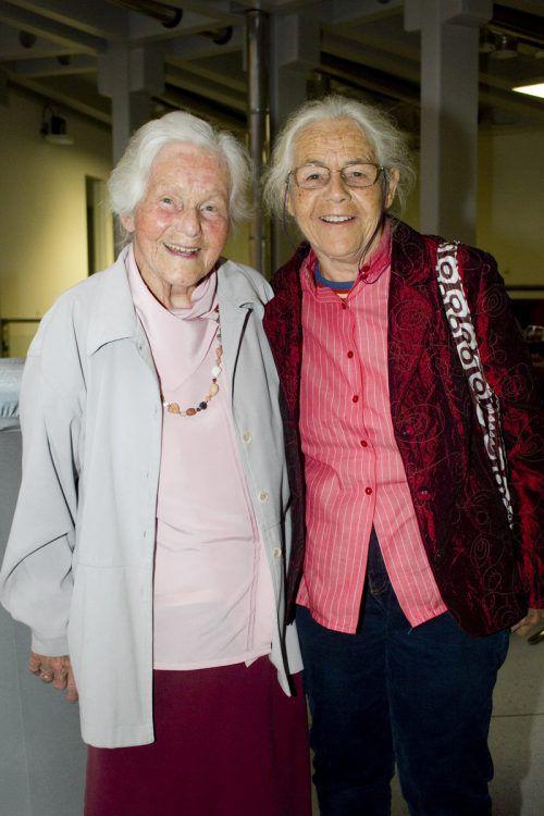 Die beiden Hauptdarstellerinnen, Elisabeth und Elisabeth Neier.