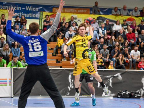 Die Bregenzer Handballer verzeichneten mit 24 Punkten in 28 Ligaspielen die schlechteste Ausbeute seit der Saison 1998/99.GEPA