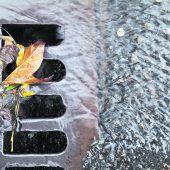 Broschüre Oberflächenabfluss