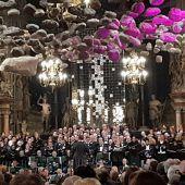 Chorakademie konzertierte in Wien