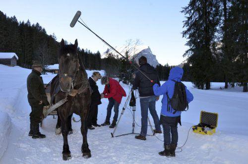 Der Film entstand an Originalschauplätzen, unter anderem im hinteren Bregenzerwald.