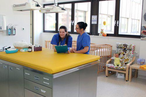 Die Geburtshilfe ist bereits im Februar erfolgreich in die während der Bauphase für sie adaptierten Räumlichkeiten umgezogen.
