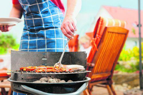Die Grillsaison ist wieder eröffnet. foto: Shutterstock
