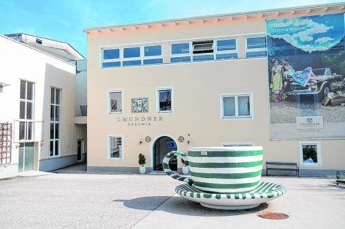 Die größte Keramikmanufaktur Europas befindet sich in Gmunden.beate Rhomberg