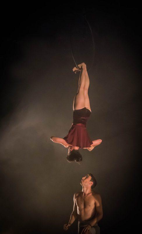 Die Kompagnie aus Brisbane in Australien zählt weltweit den führenden des zeitgenössischen Zirkus.                              shannon julie/casus circus