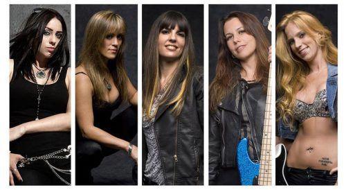 Die Ladies von The Iron Maidens lassen es am Karfreitag im Prachtclub ordentlich krachen.the Iron Maidens