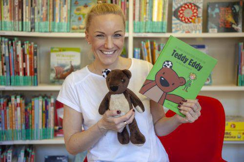 Die Lustenauer Autorin Ingrid Hofer präsentierte ihr erstes Kinderbuch.