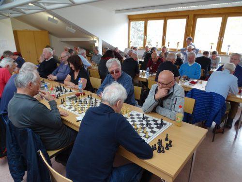 Die Meisterschaft fand im Heim des Schachklubs Lustenau statt.