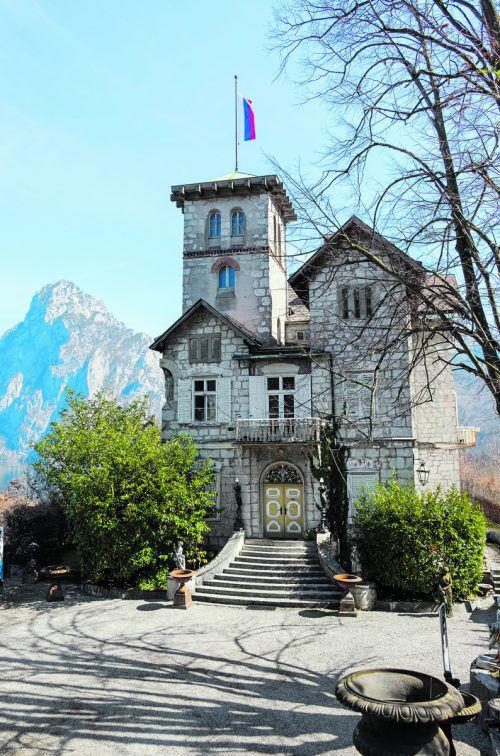 Die sogenannte Russenvilla wurde für das Wirtshausfestival Felix aus dem Dornröschenschlaf geholt. Beate Rhomberg